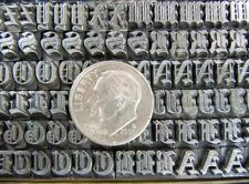 Vintage Metal Letterpress Printing Type  18pt Olde English   D41/D45  6#