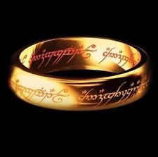 Lord Of The Rings, Hobbit Ring. The One Ring To Rule Them All Size 8
