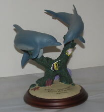 Dolphins Inspired by Ocean Companions Dolphin Sculpture Wyland Encore