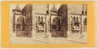 Verona S.Fermo Maggiore Italia Foto Stereo Th1L6n19 Vintage Albumina c1870