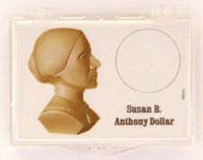 Susan B. Anthony - Bust, 2X3 Snap Lock Coin Holders, 3 pack