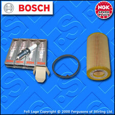 SERVICE KIT for AUDI A3 (8P) 2.0 TFSI AXX BWA OIL FILTER SPARK PLUGS (2004-2013)