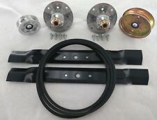 "42"" Deck Kit Fits John Deere Belt Blades Spindles L100 L108 L110 L111 L118 106"