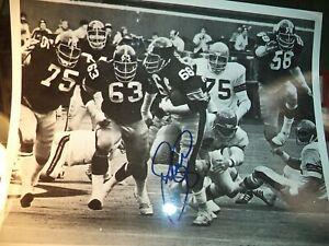 "Original Autograph Football photo 10"" X 8"""