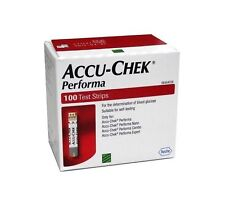 Accu-Chek Performa Glucometer Blood Glucose 100 Test Strips Exp May 2021