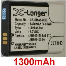 Batterie 1300mAh type AB663450BA AB663450BABSTD Pour SAMSUNG Rugby II A847