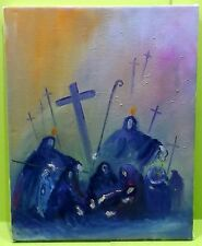 Künstlerische 1950-1999er Malereien mit religiösem & biblischem Motiv
