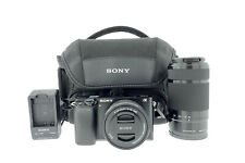 Sony Alpha A6000 24.3MP Digital Camera - Kit with 16-50mm & 55-210mm Zoom