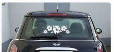 HIBISCUS HAWAIIAN FLOWERS Car Decal, Vinyl, Drift Sticker, JDM, DUB, Laptop,Wall