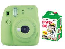 Fujifilm instax mini 9 Instant Film (Polaroid) Camera, Lime Green + 20 Prints