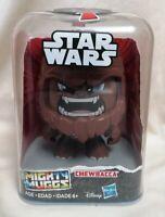 STAR WARS - New MIB Star Wars Might Muggs Classic Chewbacca Figure Hasbro Disney