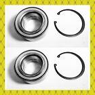 Rear Wheel Hub Bearing Wsnap Ring For Infiniti M45 2003-2004 Lh Or Rh Pair