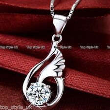 XMAS SALE GIFTS FOR HER - Angel Wings & Diamond Necklace Women Girls Daughter K7
