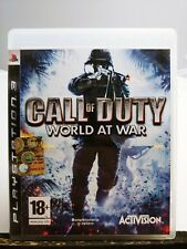 CALL OF DUTY WORLD AT WAR in ITALIANO per PS3 PLAYSTATION 3