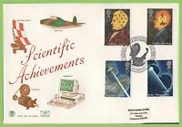 G.B. 1991 Scientific Achievements on Stuart First Day Cover, Malvern