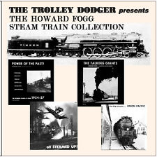 The Howard Fogg Steam Train Collection - 1950s Railroad Audio on 3 CDs