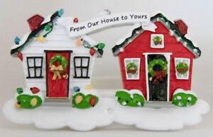 Personalised Christmas Tree Ornament/Decoration - Christmas House
