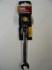 """GEARWRENCH 14mm Metric Ratcheting Flex Head Combination Wrench *works for 9/16 """""""
