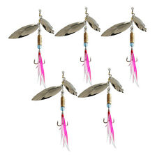 Sinking Lifelike Fishing Lure Paillette Tackle Treble Hook Spinner BaitsPX