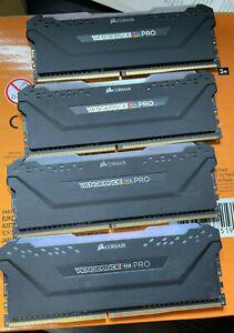 Corsair Vengeance RGB Pro 32GB (4 x 8GB) PC4-25600 (DDR4-3200) Memory (CMW128…