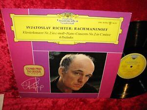 GERMAN EXC+ DG LPM 18 596 MONO RACHMANINOFF PIANO CONCERTO 2 RICHTER