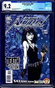 Action Comics #894 CGC 9.2 DEATH DAVID FINCH COVER ART Neil Gaiman