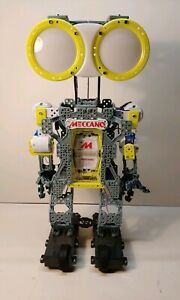 Meccano 2ft Tall Mechanical Robot Build Learn Works Great Fun!!!