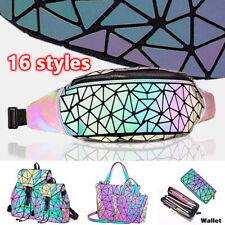 √Fanny Packs for Women and Men, Luminous Holographic Waist Pack Sport Chest Bag