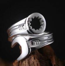Anello punk chiave inglese attrezzi meccanica / punk ring wrench dark