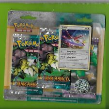 Pokemon  HS Unleashed BLISTER Pack - SEALED-3 packs with Latias card