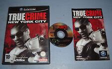 TRUE CRIME NEW YORK CITY GAMECUBE (complet, envoi suivi, vendeur pro)