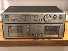 Luxman C-02 / M-02 Classic Amplifier Combo HiFi LINE
