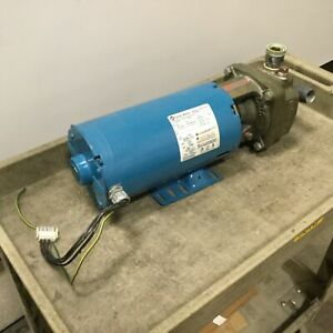 Burks Pumps 350CS9M-AB-01 Turbine Pump, With Franklin 1304270102 AC Motor