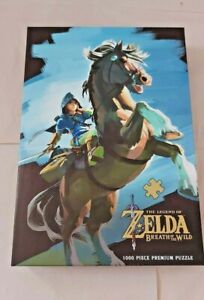 The Legend of Zelda - Breath of the Wild - The Hero Rides Jigsaw Puzzle