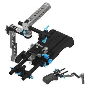 FOTGA DP500III Shoulder Mount Support Pad&Baseplate&ENG Style Rig for C500 BMPCC