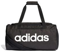 377d542435 Adidas 25L Small Linear Core Duffle Bag - Black White