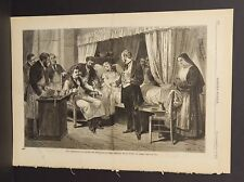 Harper's Weekly Single Pg Transfusion of Blood In Paris  1874 A11#33