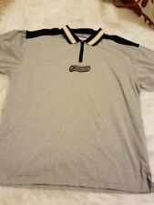 Vtg 90s Tommy Hilfiger Athletics Mens XL Spell Out Striped Polo Shirt-B28