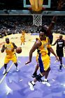 Los Angeles Lakers Kobe Bryant Assist to Shaq Poster (24x36) inches