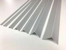4 x Light Grey Angle Trim - 25mm x 25mm - 2.5 Metres Long! 4 pieces (10m Total)