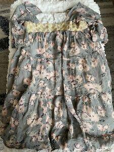 I love gorgeous girls sz. 10/11 multi design 3/4 sleeve lined dress. Beautiful
