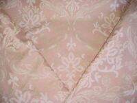 6-1/4Y Scalamandre SV12743182 Decora Rose Gothic Floral Damask Upholstery Fabric