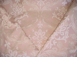 6-1/4Y Scalamandre SV12743182 Decora Rose Gothic Floral Damask Upholstery Fabric