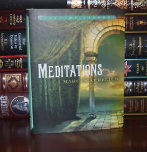 Meditations by Marcus Aurelius Brand New Hardcover Dust Jacket Deluxe Gift