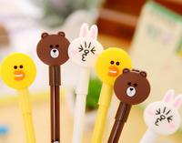 Novelty Rilakkuma Bear  Bunny Chicken Pen  Kids Party Gift Bag Black ink Easter