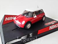 "Scx Scalextric Slot Ninco 50275 Mini Cooper "" Red """