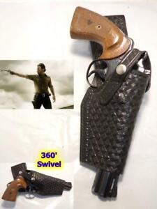 "Walking Dead Style Rick Grimes Swivel Holster for COLT Python 6"" & Oth Revolvers"