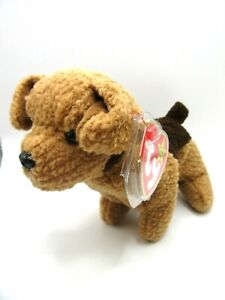 TY BEANIE BABY TUFFY - THE TERRIER DOG - MINT - RETIRED WITH TAGS