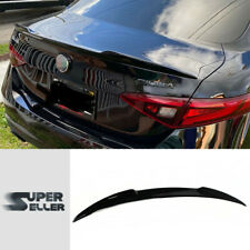Fit For 16-20 Alfa Romeo 4D Giulia 952 VQ Rear Trunk Spoiler Wing Painted #PXN