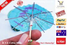 New24 Umbrella Hawaiian Cocktail Picks Sticks Drinks Party Parasol Luau tropical